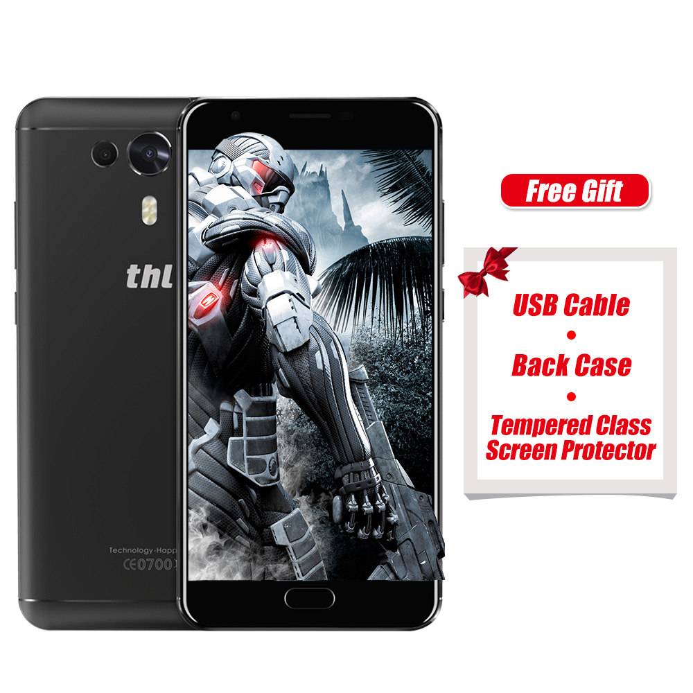 Original THL Knight 1 5.5 Inch HD Screen 4G Smartphones MTK6750T Octa core Android 7.0 3GB RAM 32GB ROM 3100mAh In Stock Phone