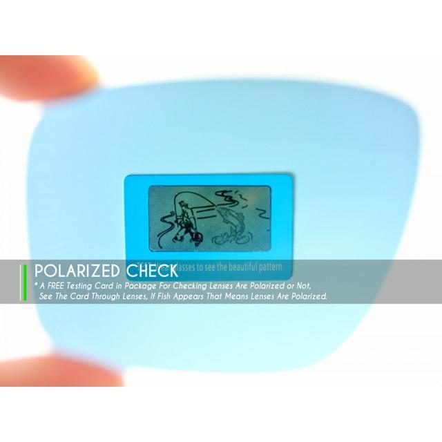 50d944f0da7 Mryok POLARIZED Replacement Lenses for Oakley Eyepatch 2 Sunglasses Black  Iridium