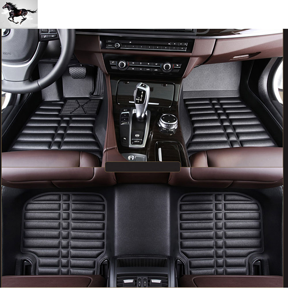 Rubber floor mats for jaguar xf - Topmats Custom Full Set Car Floor Mats For Jeep Patriot 2012 2017 Waterproof Car Mats
