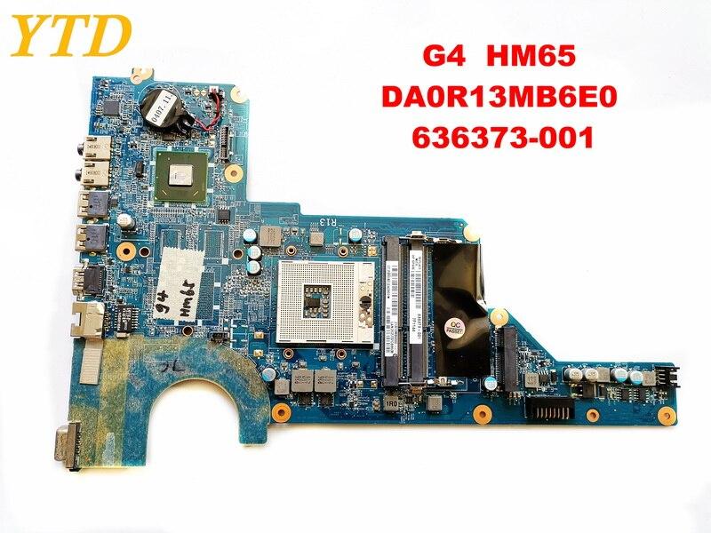 Original pour HP G4 ordinateur portable carte mère G4 HM65 DA0R13MB6E0 636373-001 testé bonne livraison gratuite