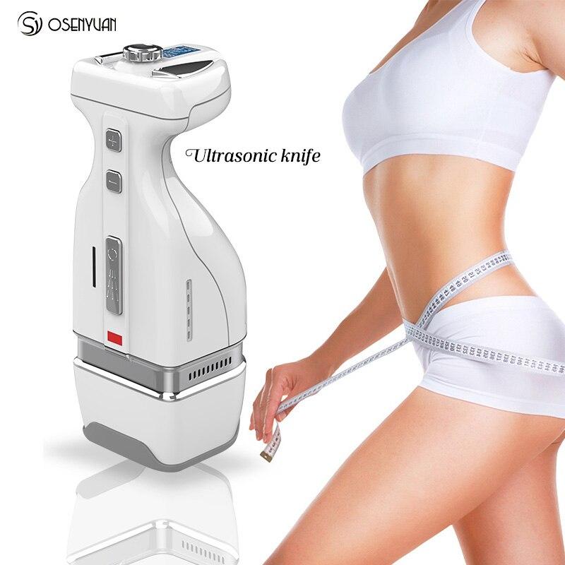 Portable hifu body slimming home use weight loss hifu high