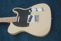 The best custom shop new! High quality milk yellow electric guitar, American standard TV electric guitar, electric guitar, elect