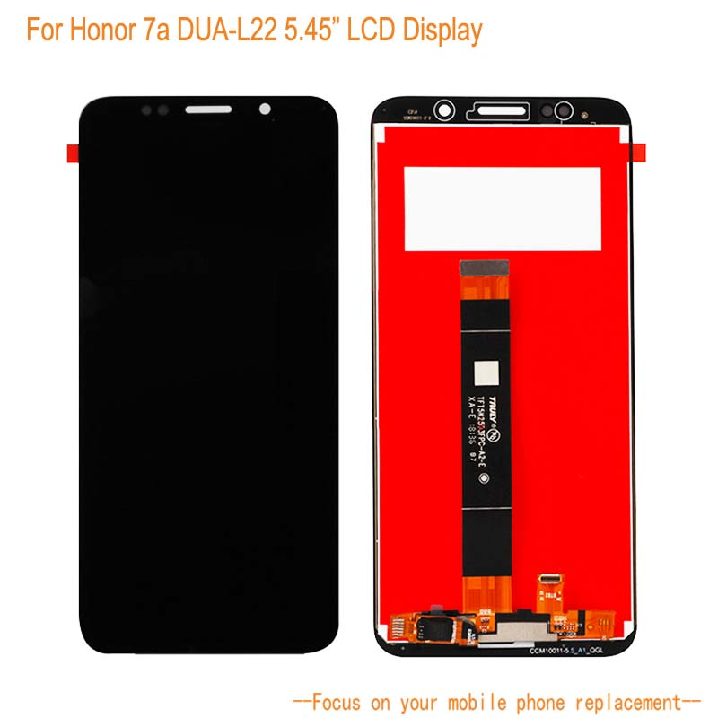 LCD <font><b>Display</b></font> For Huawei <font><b>Honor</b></font> <font><b>7a</b></font> DUA-L22 5.45''+Touch Screen Digitizer Assembly Replacement For Huawei Mobile Phone <font><b>Display</b></font> image