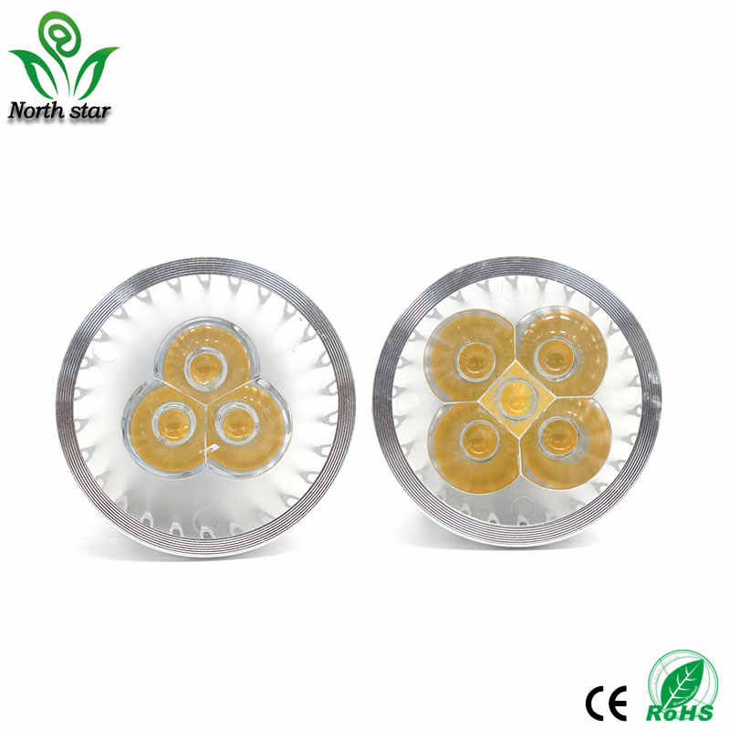 Dimmable LED Spotlight GU10 15W 12W 9W 85-265V Lampada LED Lamp e14 E27 220V GU5.3 Spot Candle LED Bulbs MR16 DC12V Lighting