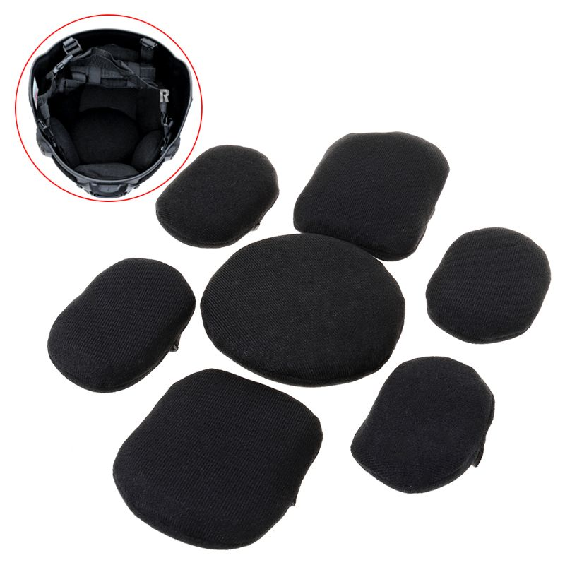 Helmet Liner Pad Protector Sticker Helmets Cushion Support Head Tactical Tackle