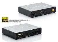 จัดส่งฟรี! JEDXมินิแบบFull HD 1080จุดUSB External HDD Media player SD MMCอ่านบัตรโฮสต์OTG MKV RMVBดีวีดีMPEG