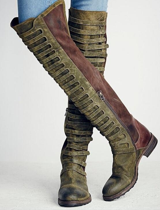 Online Get Cheap Knee High Cowboy Boots for Women -Aliexpress.com ...