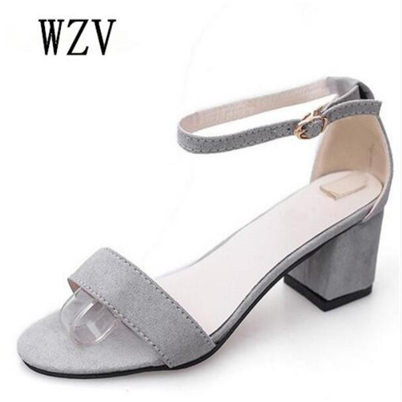 d127ae3f95d32 Detail Feedback Questions about 2018 Summer Women Sandals Open Toe Flip  Flops Women s Sandles Thick Heel Women Shoes Korean Style Gladiator Shoes  E024 on ...