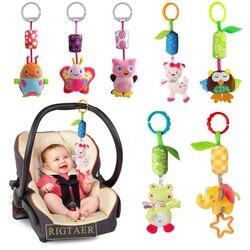 Baby frühen pädagogisches spielzeug Neue Säuglings Mobilen Baby Plüsch Spielzeug Bett Windspiele Rasseln Glocke Spielzeug Kinderwagen für Neugeborene kinder spielzeug