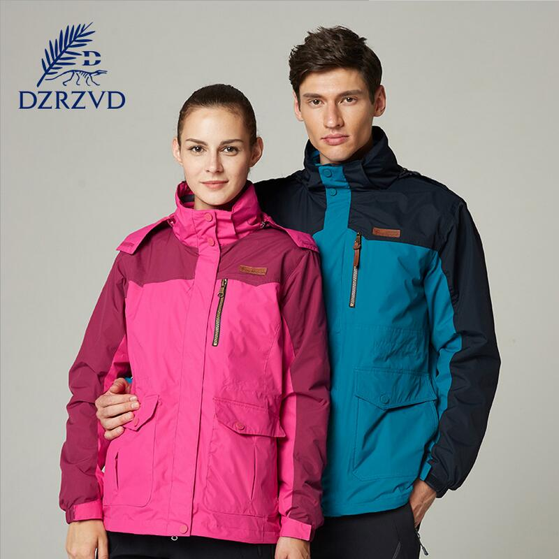 Outdoor Jackets men and women Slim warm camping winter hunting clothes fishing jacket ski suit