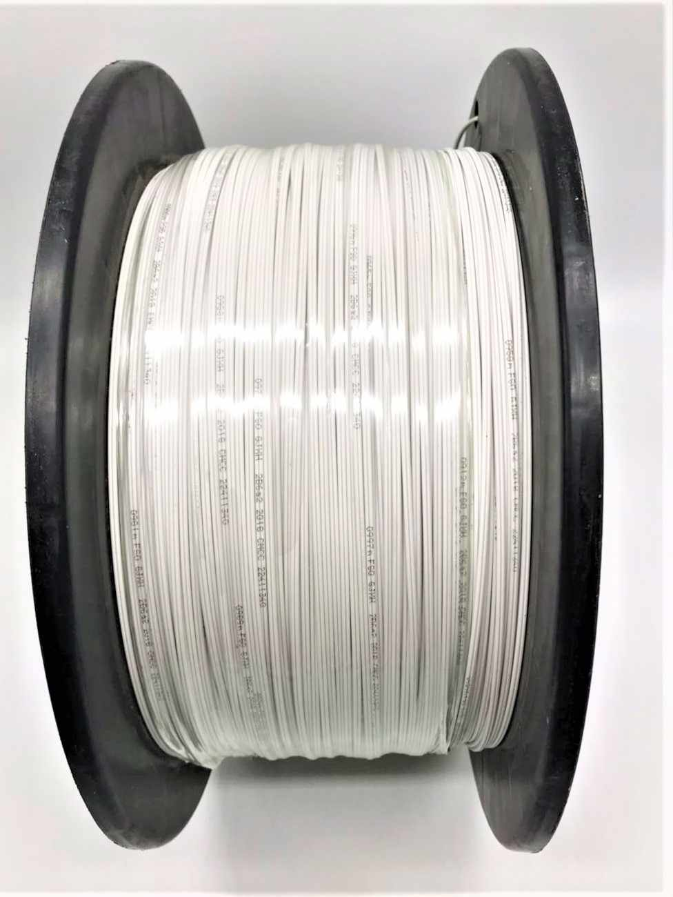 New and original items 1000m/roll 2 Cores 3 Steel Wire outdoor G657 FTTH fiber optic Drop Wire Cable LSZH sheath  in stock