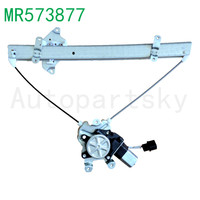 OEM MR573877 High Quality Front Left Window Regulator EL W/ Motor For Mitsubishi Outlander 03 06 2003 2006