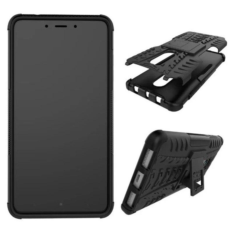 Pro Xiaomi Redmi Note 4X Pouzdro Hybrid TPU + PC Armor Hard Silikon se stojanem Zadní Kryt Pro Xiaomi Redmi Note 4X 5.5inch