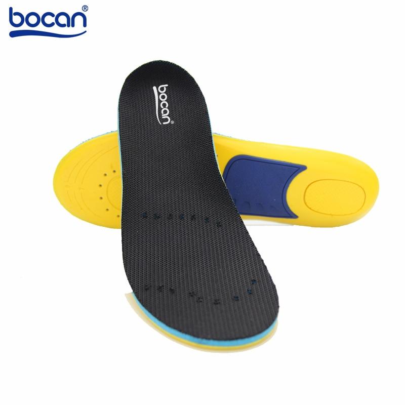 Bocan Memory vaht sisetallaga jalatsite sisetallad šoki imendumiseks jalgade valu leevendamiseks meestele ja naistele
