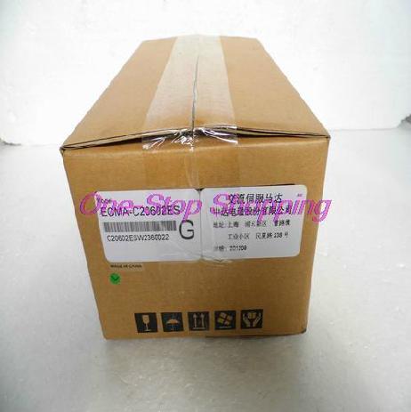 New Original Servo Motor ECMA-C20602ES 60mm 220V 3000rpm Keyway 200W227