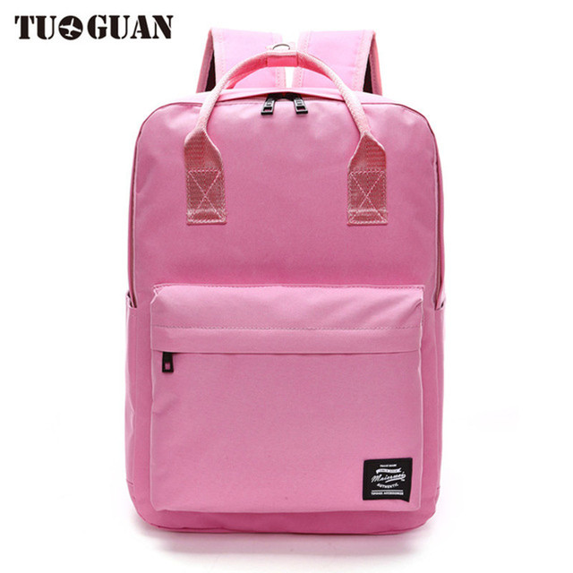 85731340f6de Fashion Women School Backpack Canvas College Student Laptop Back Pack Book  Bags for Teenager Girl Bagpack