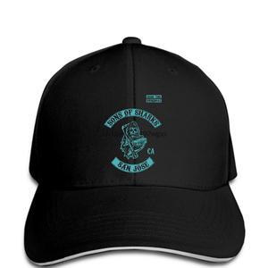 Jzecco Sons of San Jose SOa Style Sharks Hockeyer cap cd78da62408b