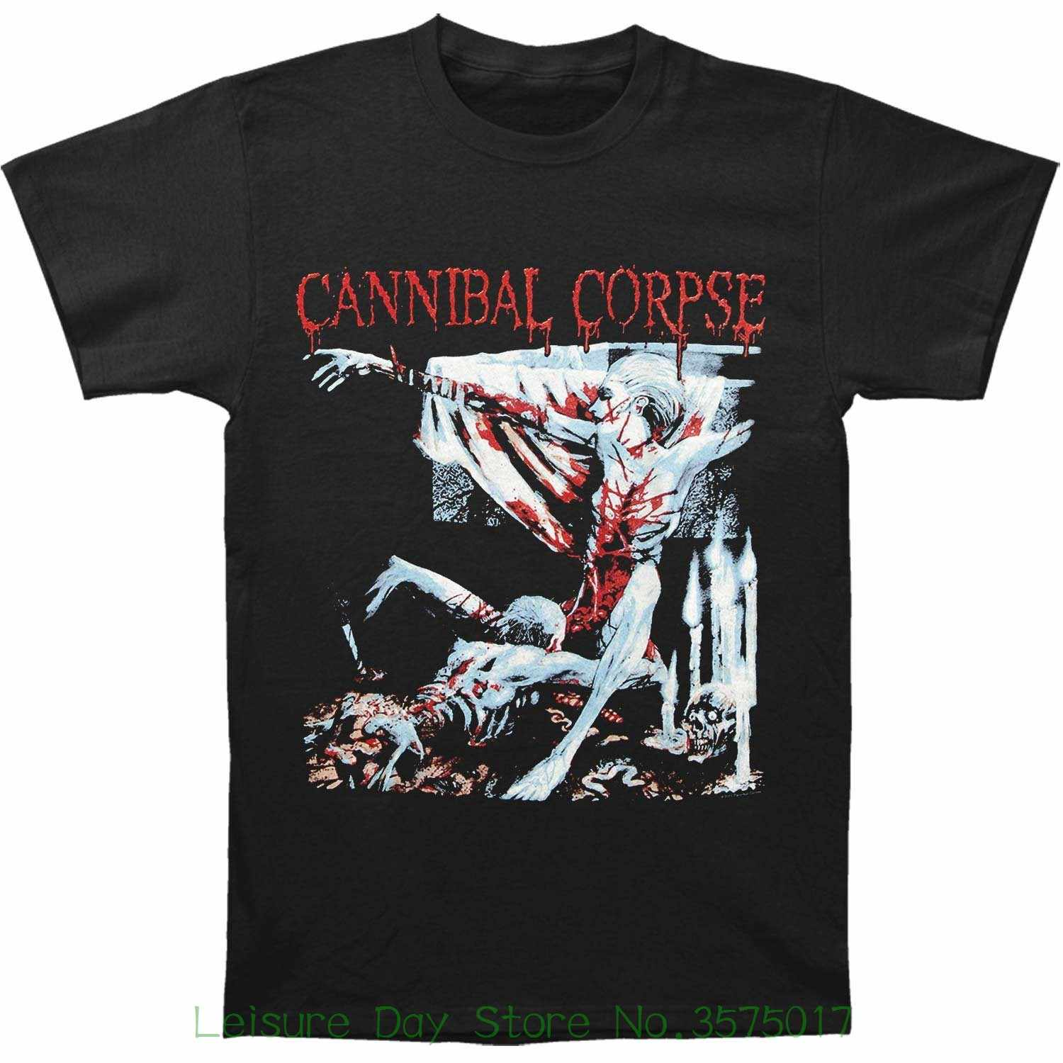 Sleeves Boy Cotton Men T-shirt Cannibal Corpse Men s Tomb Of The Mutilated T - 9d4e65cceb35