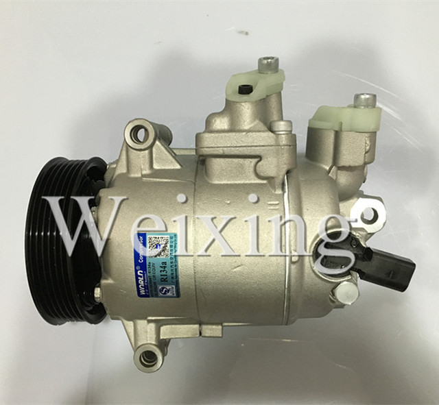 6CVC Auto air conditioning compressor for A3 VW Touran Golf Caddy Passat Jetta EOS Tiguan Polo CC 5N0 820 803A 5N0820803A