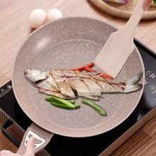 Non-stick Pan Steak Frying Pan Light Oil Type Pan Induction Medical Stone Cooker Cooking Pot Rondell Casseroles Kitchen  PDG32