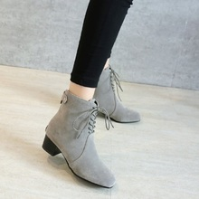 SALCXOI ankle boots for women winter boots women 2017 chelsea boots female short boot ladies shoes