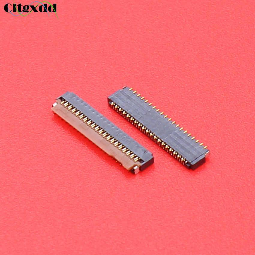 Cltgxdd Voor xiaomi 2 3 4 note Mi2 Mi3 Mi4 redmi note LCD Touch screen digitizer FPC connector op Flex Kabel en op moederbord