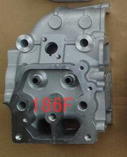 цена на Fast Shipping diesel engine 186F Cylinder head spare parts best quality suit for kipor kama Chinese brand