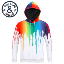 Mr. BaoLong Hip hop 3D printed hoodies 2017 fashion hoodies sweatshirts casual chandal sudaderas hombre fitness hoody mantel jacke