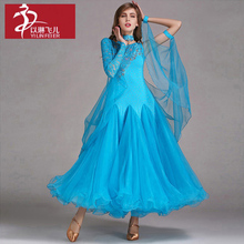 Handmade Dance Dress/Standard Ballroom Competition Dress Modern Waltz Tango Standard Ballroom Dancing Clothes Competition