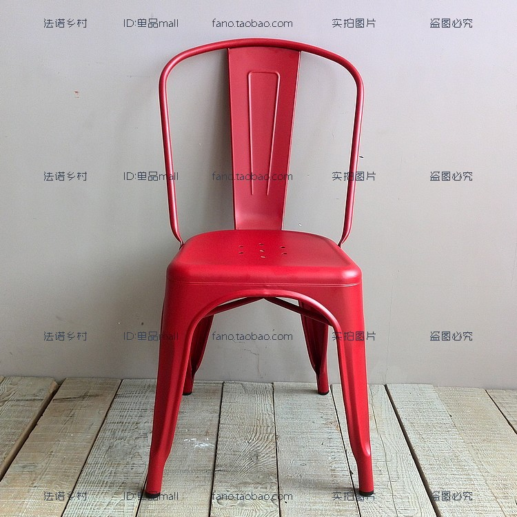 IKEA Scandinavian Retro Rustic Metal Chairs MaraisTolix Industrial Loft  Dining Chairs Chairs Personality In Shampoo Chairs From Furniture On  Aliexpress.com ...
