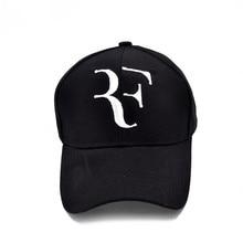 Roger Federer RF Men Baseball Caps Cotton casual hip-hop cap Adjustable sports hat