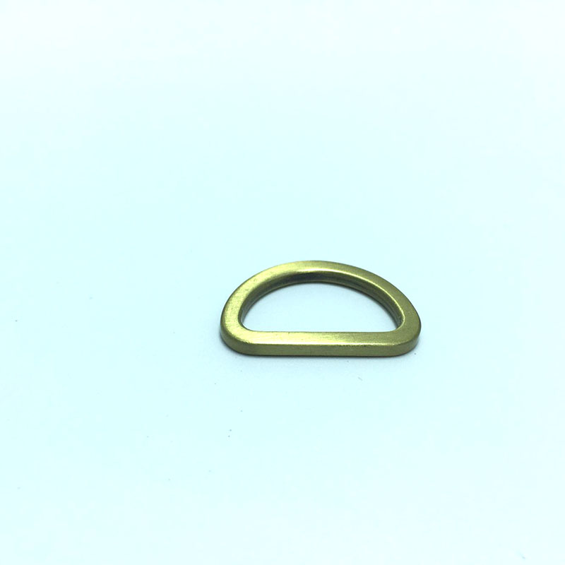 ljdeals Metal D Ring 1 inch Non Welded Nickel Plated Pack Of 50 Free Ship New