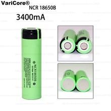 1pcs/Lot 100% New Original NCR18650B 18650 li-ion Rechargeable battery 3400 mAh 3.7 V for Panasonic Flashlight+ Free shipping