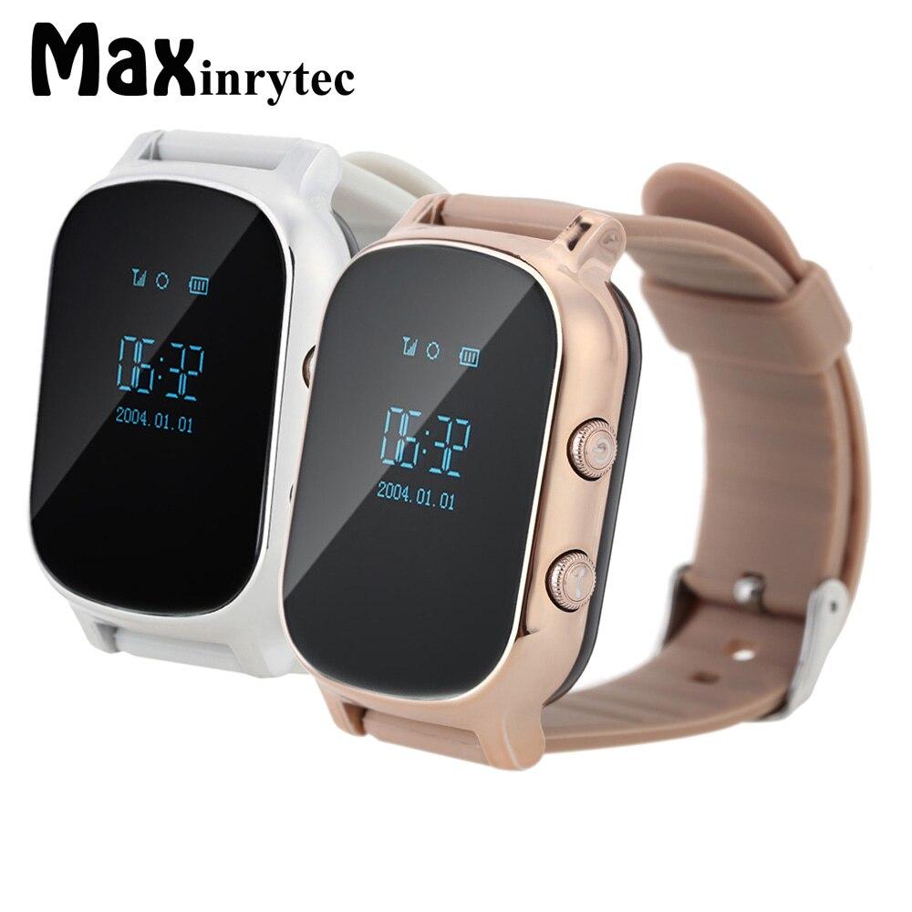 Maxinrytec T58 горячие дети GPS трекер sim для взрослых детей Смарт часы-телефон smart браслет смотреть детям для IOS android