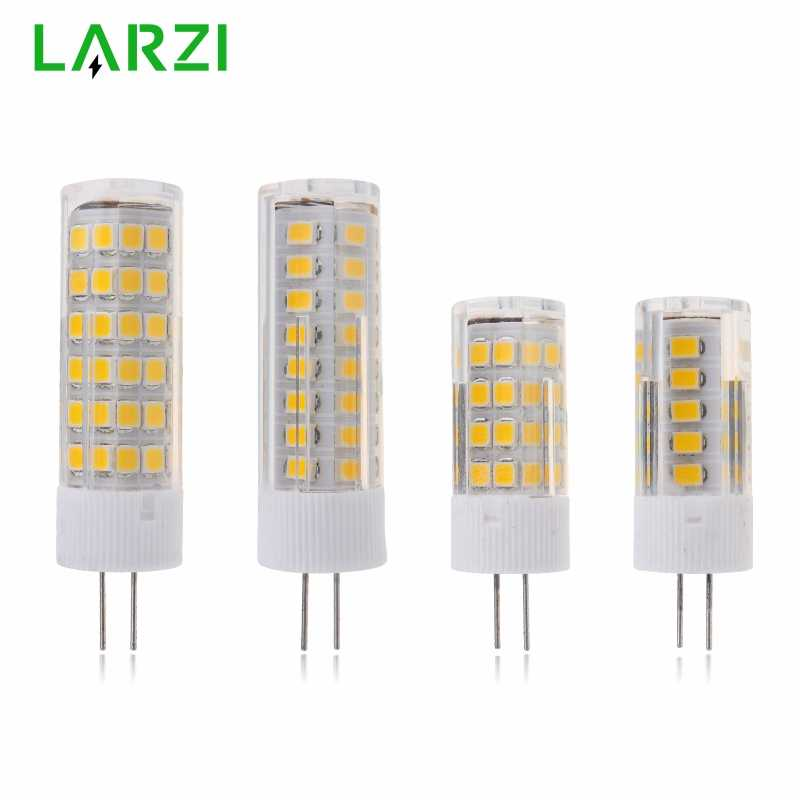 LARZI G4 LED Lamp AC 220V Mini Lampada LED Bulb G4 2835SMD 3W 4W 5W 7W Lights Replace 20W 30W 40W 50W Halogen G4 Spotlight