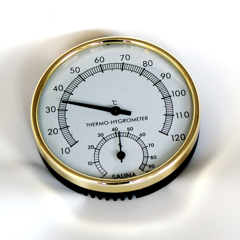 Steam Sauna Thermometer And Hygrometer