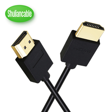 Shuliancable HDMI cable High Speed HDMI  2.0 Male to Male Supports Ethernet 3D 1080P  for HDTV LCD PS4/PS4 Pro/ PS3 xbox 360