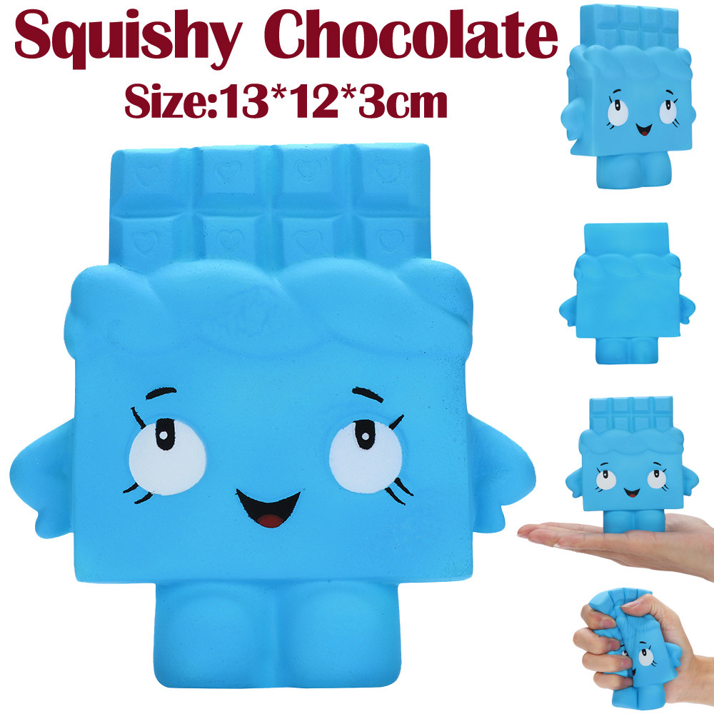 13cm Chocolate Squishies 4 Second Slow Rising Squeeze Scented Stress Relieve Toy High Quality Shiping W513