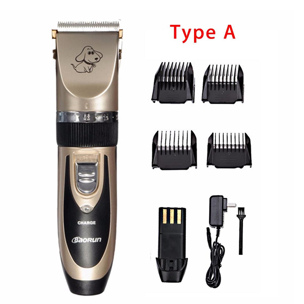 Rechargeable Baorun Electrical Pet Hair Trimmer 21 » Pets Impress