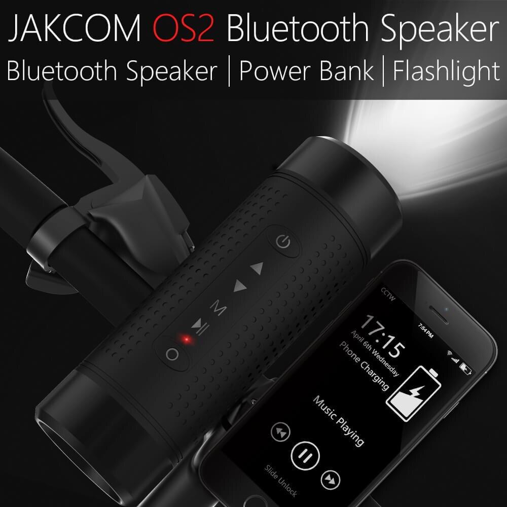 Jakcom OS2 Extérieure Bluetooth Haut-Parleur Étanche Construit Dans 5200 mah Puissance Banque Portable Subwoofer Basse Haut-Parleur LED Lumière + Vélo montage
