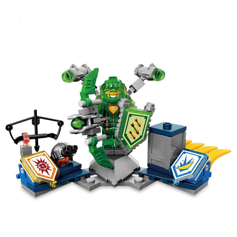 2018 NEW Nexo Knights Series Future Shield Toys Building Blocks Figures Compatible With legoingly Nexo Knights Castle Warrior nexo knights series the stone colossus of ultimate destruction model building blocks compatible legoingly toys for children