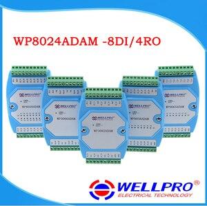 Image 1 - WP8024ADAM (8DI/4RO) דיגיטלי קלט פלט ממסר מודולים/מצמד אופטי מבודד/RS485 MODBUS RTU תקשורת
