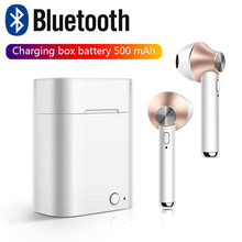 Buy Stereo Dynamic Wireless   Bluetooth4.2  Earphones Wireless Earbuds Touch control Headset directly from merchant!