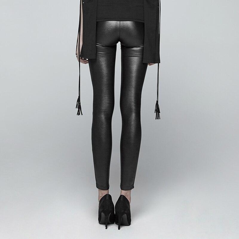 Прозрачные натуральные с черным свободно сексуальные длинные латексные леггинсы резиновые штаны брюки низ брюки KZ 160 - 4