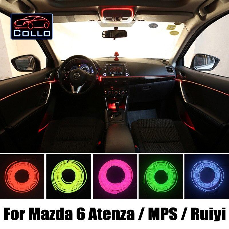 Для Мазда 6 Атенза / депутаты / скорость Атенза / модели Mazda6 получите / Mazdaspeed6 / украшения автомобиля холодный свет атмосфера лампы / 9м провода El