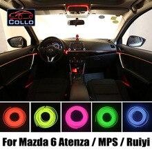 Для Mazda 6 Atenza/MPS/Скорость Atenza/Mazda6 Ruiyi/Mazdaspeed6/Украшение Автомобиля Холодный Свет Лампы Атмосфера/9 М EL провода