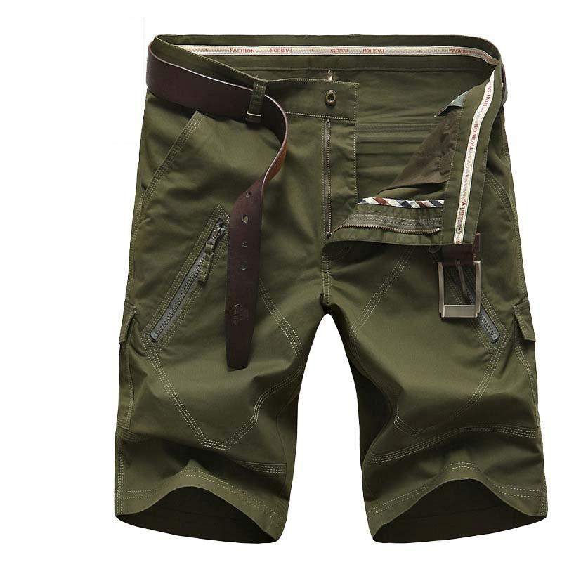 Hommes Camouflage Green D'été kaki Mode Taille La Pantalon Shorts bleu Masculine rouge Militaire Plus army Boardshort Occasionnels Black Lâche Cargo Coton Droite ardqaxHw