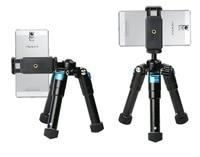 Professional Aluminum Portable DesktopTable Mini Camera Tripod Tripode with swivel Ball Head for Canon Nikon DSLR Mobile phone