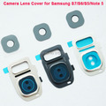 Camera Frame Glass Lens Cover Replecements For S7 Rear Camera Lens Cover Flash Diffuser For Samsung Galaxy S6 edge S5 Note 5