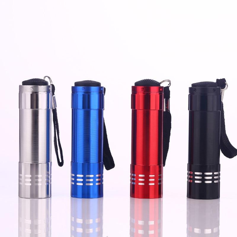 AIMIHUO Mini LED flashlight Aluminum alloy mini torch 4 colors outdoor adventure hard light 3AAA white light portable flashlight